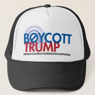 Boycott Trump Trucker Hat