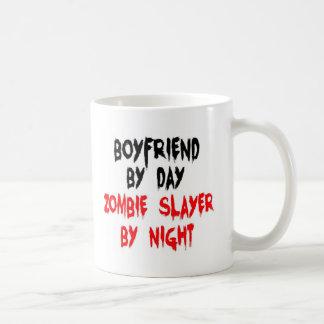 Boyfriend Zombie Slayer Basic White Mug