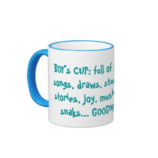 BOY's CUP Mugs