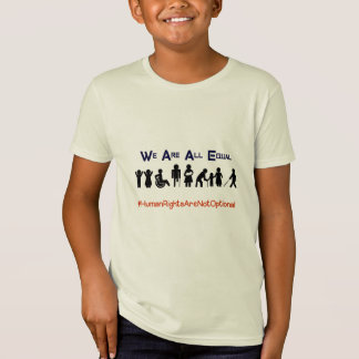 Boys Human Rights Equality Disability Shirt