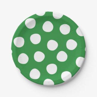 Boys Toys Birthday Party Polka Dots Paper Plates