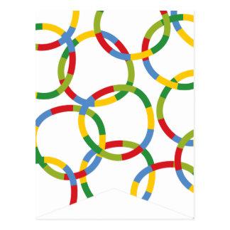 Boys Toys Kid's Birthday Party Flag Bunting Banner Postcard
