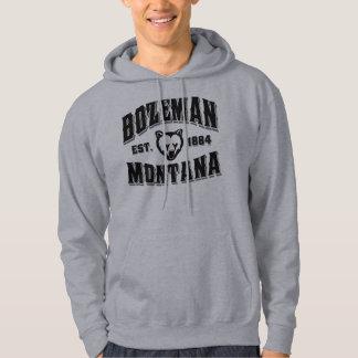 Bozeman Bear 1884 Black Hoodie