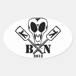 BPaddleN 2013 Oval Sticker