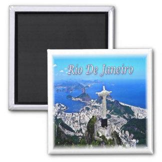 BR * Brazil - Rio De Janeiro Christ Redeemer Magnet