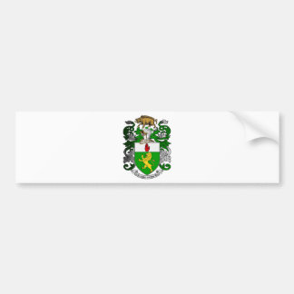 BRADLEY COAT OF ARMS BUMPER STICKER