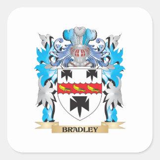 Bradley Coat of Arms Square Sticker