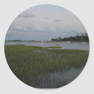 Bradley Creek, Wilmington, NC Classic Round Sticker