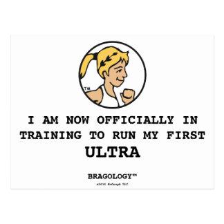 "Bragology™ / ""In Training...Ultra"" Postcard"