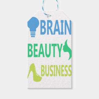 Brain Beauty Business Gift Tags