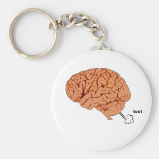 Brain fart key ring