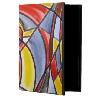 Brain Freeze - Abstract Art Handpainted iPad Air Cover