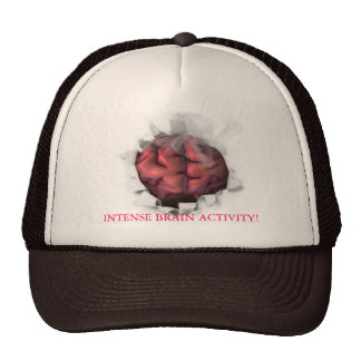 Brain on fire, INTENSE BRAIN ACTIVITY! Mesh Hat