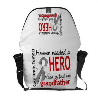 Brain Tumors Heaven Needed a Hero Grandfather Commuter Bag