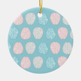 Brainy Pastel Pattern Christmas Ornament