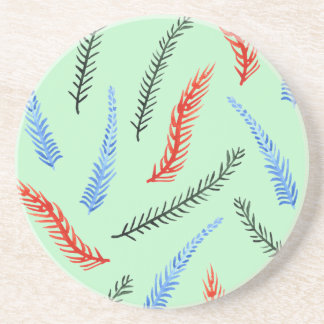 Branches Sandstone Drink Coaster
