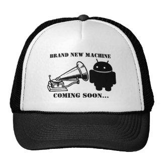 Brand New Android Machine? Cap