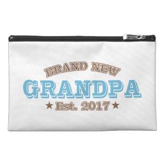 Brand New Grandpa Est. 2017 (Blue) Travel Accessory Bag