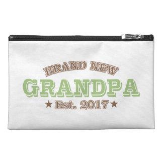 Brand New Grandpa Est. 2017 (Green) Travel Accessory Bags