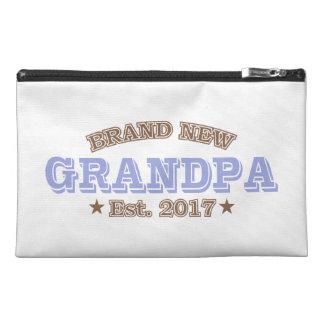 Brand New Grandpa Est. 2017 (Purple) Travel Accessory Bag