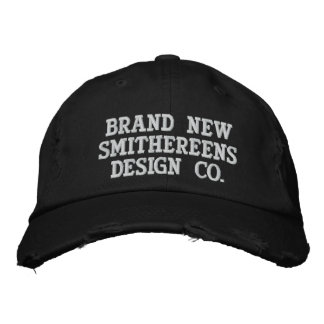 Brand New Smithereens Design Co. Hat Embroidered Hats