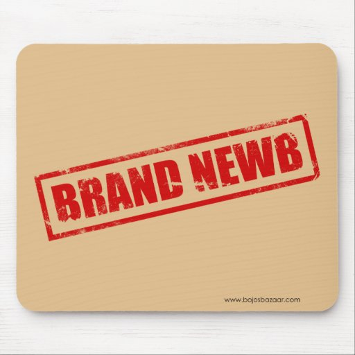 Brand Newb (Stamped) Mousepads
