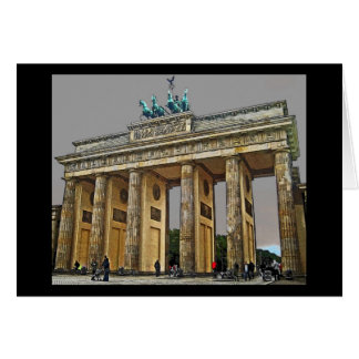 Brandenburg Gate, Berlin, Germany - Full View Card