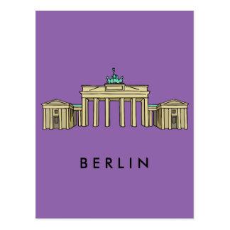Brandenburger gate Berlin Postcard