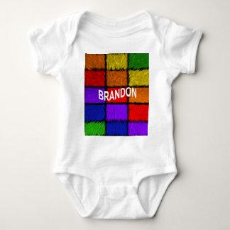 BRANDON ( male names ) Baby Bodysuit