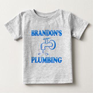 Brandon's Plumbing Baby T-Shirt