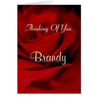 Brandy Card