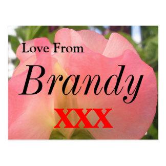 Brandy Postcard