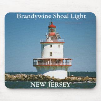 Brandywine Shoal Light, New Jersey Mousepad