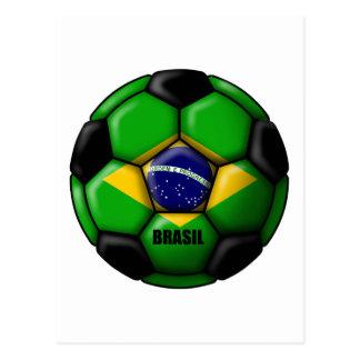 Brasil Ball Postcard