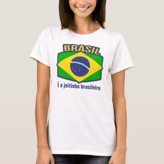 Brasil flag É o jeitinho brasileiro t-shirt