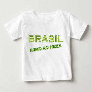 Brasil rumo ao hexa baby T-Shirt