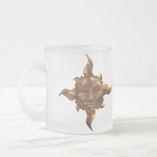 Brass Sun & Silver Moon Coffee Mug