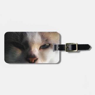 Brat Cat Luggage Tag