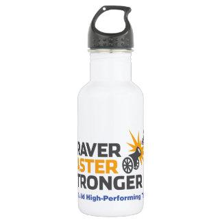 Braver Faster Stronger - Logo 532 Ml Water Bottle