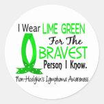 Bravest Person I Know Non-Hodgkin's Lymphoma