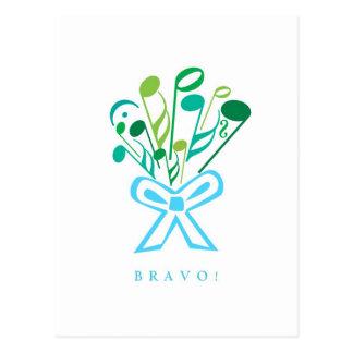 BRAVO POSTCARD