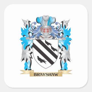 Brayshaw Coat of Arms Square Sticker