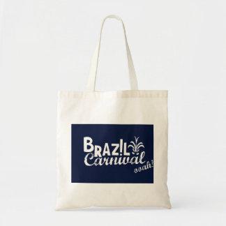 Brazil Carnival ooah! Shopping Blue Tote Bag