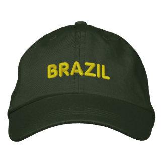 BRAZIL EMBROIDERED BASEBALL CAPS