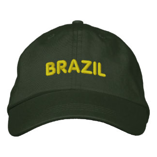 BRAZIL EMBROIDERED HAT