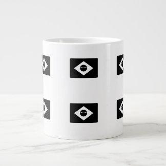 Brazil Flag Jumbo Mug