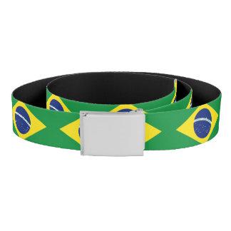 Brazilian flag canvas belt | Brasil pride