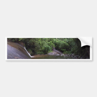 Brazilian Waterfall Car Bumper Sticker