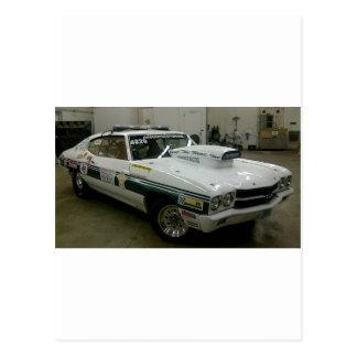 Brazoria County Sheriff's Race Car Postcard