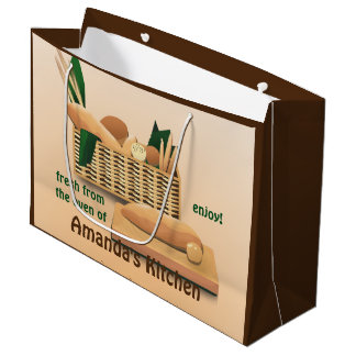 Bread Bakery LGB Large Gift Bag
